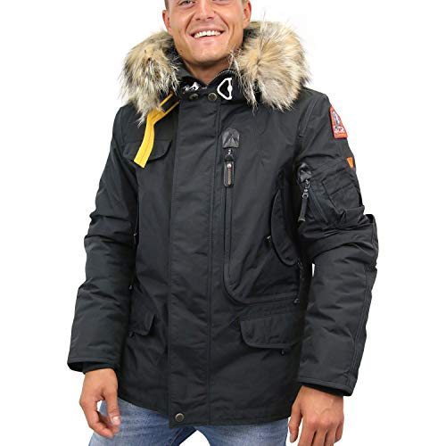 Parajumpers Herren Right Hand Parka Anthrazit 2XL