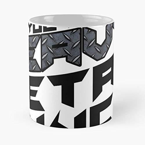 Rockguitar Roll Heavy Rockabilly Metal Hardrock Music and Best 11 oz Kaffeebecher - Nespresso Tassen Kaffee Motive