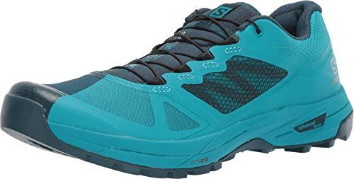 Salomon Women's X Alpine/Pro Trail Running Shoes, Reflecting Pond/Tile Blue/Tile Blue, 8.5