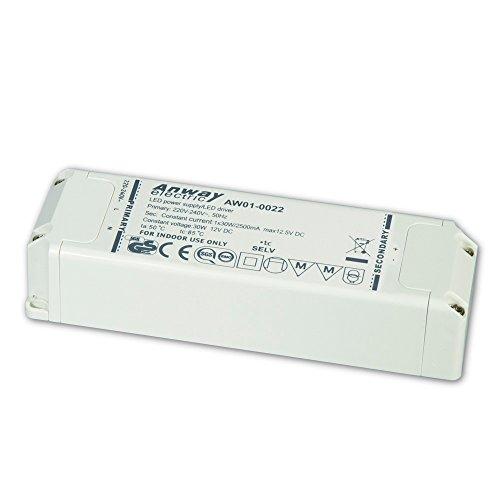 00011889 - ANWAY LED Treiber AW01-0022 30W/2.5A/12,5V