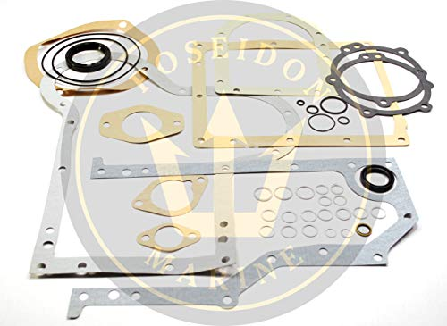 Orbitrade Marine Conversion Oil pan Gasket Set for Volvo Penta MD6 MD7 RO: 876314 875509
