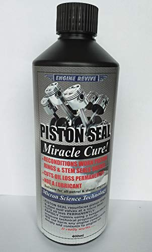 PISTON SEAL MIRACLE CURE- PERMANENTLY STOPS OIL LOSS & SMOKING ENGINES- E400