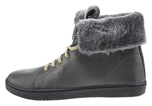 Billowy 5981c35 Leder Sneaker grau, Groesse:36.0