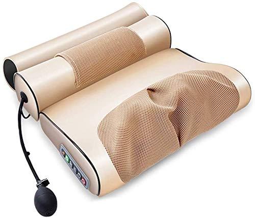 Kaper Go Masajeador Corporal |Masaje de Espalda - masajeador masajeador Cuello con Masaje de Calor for Cuello y Espalda-Multi-Función/eléctrico/Almohada de Masaje/Cuerpo Caliente Comprimir/una