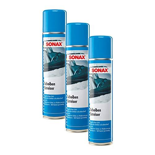 SONAX 3X Scheibenenteiser Enteiser Eisfrei Antifrost Spray 400 ml 03313000