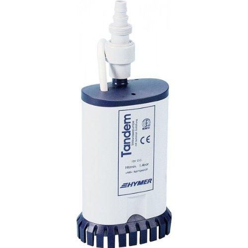 Hochleistungs-Tandemtauchpumpe 19 l/min., 1,4 bar mit RSV
