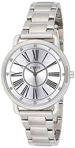 Guess Reloj Analógico para Mujer de Cuarzo con Correa en Acero W1148L1