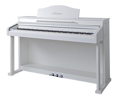 Blüthner e-Klavier Modell 1 Lack satiniert weiß