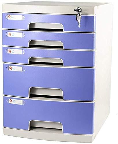 Archivadores de revistas Archivadores trabajo Efficiencyfile gabinetes de escritorio de oficina Caja de almacenamiento de muebles Archivo gran armario bloqueo del espacio de plástico de alta capacidad