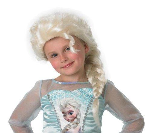 RUBIE'S Disney - Perruque enfant Elsa Reine des neiges - Taille unique