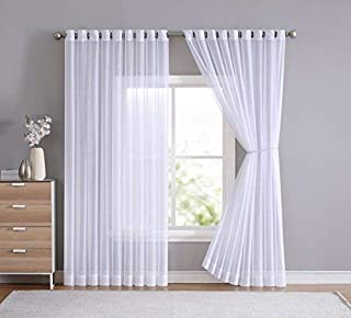 extra long sheer curtain panels
