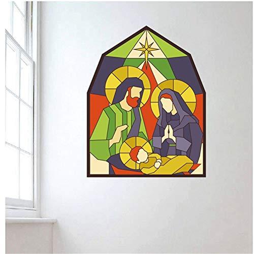 ZYLBL Pegatinas de pared con patrón geométrico abstracto artístico, adhesivo para dormitorio, sala de estar, aula, oficina, decoración del hogar, 32 x 41 cm, 2 unidades