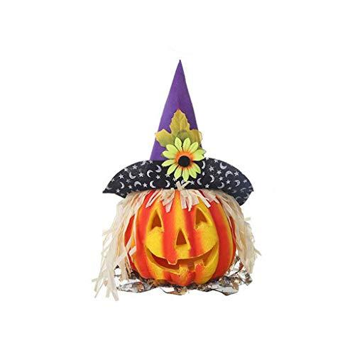 Halloween Dekoration LED Nachtlicht,Halloween Hohl leuchtende Kürbis Lichtleiste Atmosphäre Dekoration Requisiten Nachtlicht Halloween Deko Garten