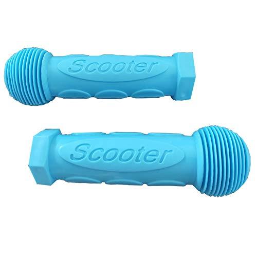 MUKEZON EIN Paar Griffe als Perfekter Ersatzgriff für Mini oder Maxi Micro Scooter (Blue)