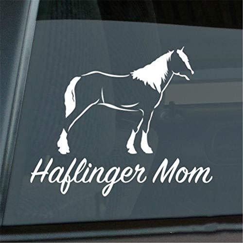 Auto Sticker Auto Sticker Haflinger Moeder Sticker Die Cut Avelignese Paard Venster Decal Grootte (Inch): 6.00 X 4.96