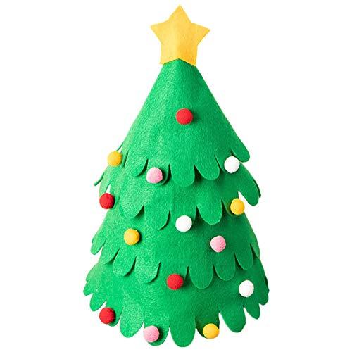 Fei Tao Weihnachten Weinflasche Schutztasche - 3 Stück Weihnachtsbaum Shaped Weinflasche Abdeckung Weihnachtsdekoration Tabelle Champagne Weinflasche Abdeckung