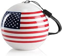 Compact iCute Bluetooth Wireless Speaker - American Flag