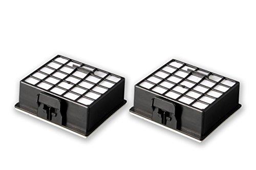 eVendix 2 HEPA H12 Filter Mikrofilter passend für Bosch BS-Serie + Siemens VS-Serie | ähnlich Original BBZ153HFB, 426966, 572234 | Premium Qualität