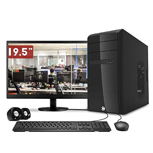 Computador CorPC Intel Core i3 4GB DDR3, HD 500GB e Monitor LED 19.5
