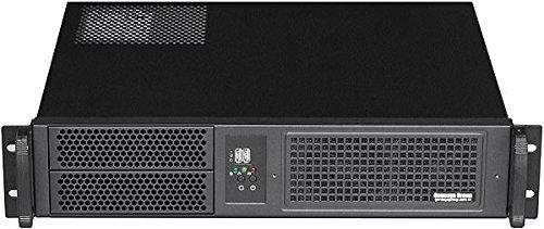 "PLINKUSA RACKBUY 2U(2x5.25+2x3.5 HD) Rackmount Chassis(14.96"""" Deep)(Micro-ATX/Mini ITX)(NO Power Supply,No System and Case Only) IPC-2022M"