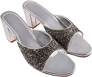Tiya Collection Women & Girls Fashionable Party Heel Snadals