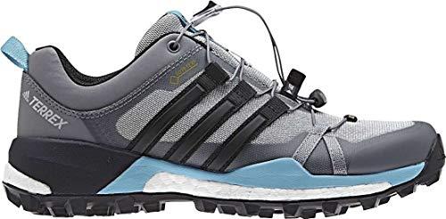 adidas adidas Damen Terrex Skychaser GTX W Trekking-& Wanderhalbschuhe, Graue Gridos schwarz Azuvap, 38 EU