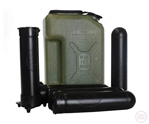 Allen Paintball Jerry Can + x5 Pods and Pod Pal