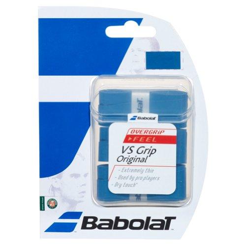 BABOLAT VS Grip de Tenis (Pack de 3 Grips), Azul