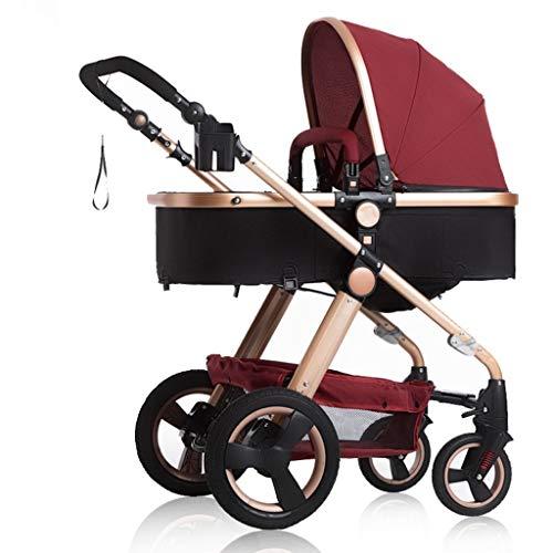 Jixi Cochecito de bebé Carro de bebé Plus Portavasos A Prueba de...