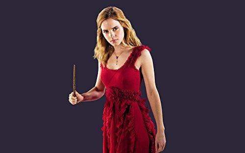 Firefly Arts Emma Watson Regression 56 x 35 cm oder 96 x 60 cm 22 x 14 Zoll oder 38 x 24 Zoll Poster auf Seide - Kunstdrucke (38x24 Zoll)