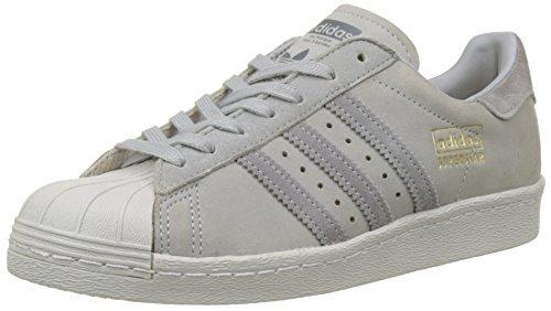adidas Herren Superstar 80s Sneaker - Grau (Mittelgrau) , 40 EU