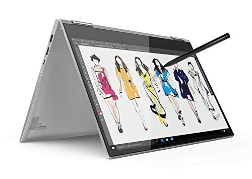 2019_Lenovo Yoga 2-in-1 15.6' 4K UHD Touch-Screen Laptop with 360° flip-and-fold Design, Intel Core i7 Processor,16GB RAM, NVIDIA GeForce GTX 1050 Graphics 4GB, 1TB SSD,Fingerprint Reader, Windows 10