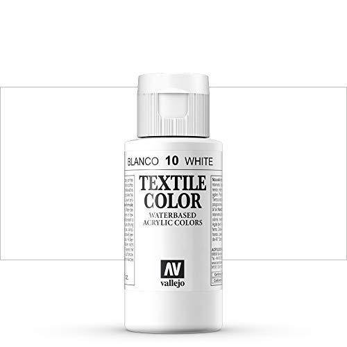 Pintura Textil Blanca Marca Acrylicos Vallejo