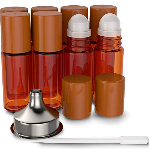Top 10 Best essential oil roller bottles with labels Reviews