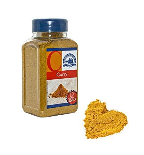 Curry in Polvere Pregiato - 420 g - Spezia Miscela Indiana: Curcuma, Coriandolo, Cumino, Zenzero e Non Solo - Ricette con Gusto Esotico e Aromatico -