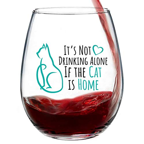 """It's Not Drinking Alone if the Cat is Home"""
