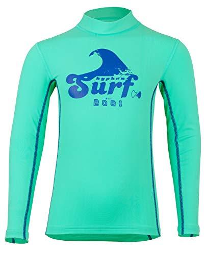 hyphen med Kids UV-Schutzkleidung (Sonnenschutz-Faktor 80) Langarmshirt enoo Bermuda (140/146)