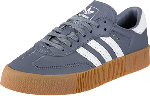 adidas Damen Sneaker, Bianco, EU, (Rohstahl / Wolke weiß / Gummi), 35.5 EU