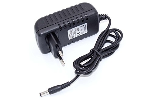 vhbw alimentatore compatibile con Annke 900TVL HD CCTV, H.View 700TVL HD CCTV, Sunluxy 8CH H.264 DVR videocamera da parete, di sorveglianza - 110 cm