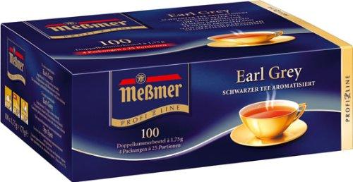 Meßmer ProfiLine Earl Grey 100 x 1.75 g, 1er Pack (1 x 175 g)