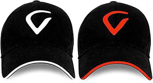GOOD FEEL goodfeel virat Embroidered Inspire Sports v – oange v – White Cap for Unisex Men & Women (Combo Pack of – 2)