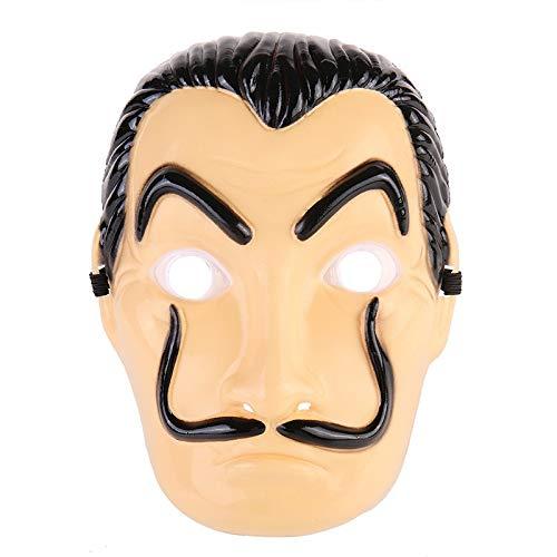 Salvador Dali Film Kostuum Het Huis van Papier La Casa De Papel Cosplay Party Halloween Maskers Kostuums Geld Heist Kleding Masker