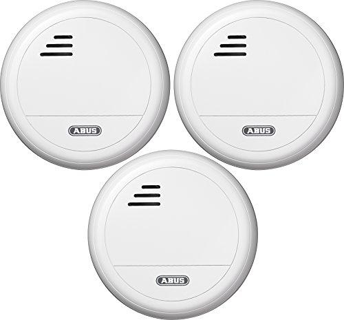 ABUS Rauchmelder RM40, Triples Set-3-Stück, 34663