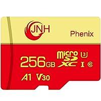 microSDカード microSDXCカード 256GB JNH 超高速100MB/秒 UHS-I U3 V30 4K Ultra HD アプリ最適化A1対応 エコパッケージ