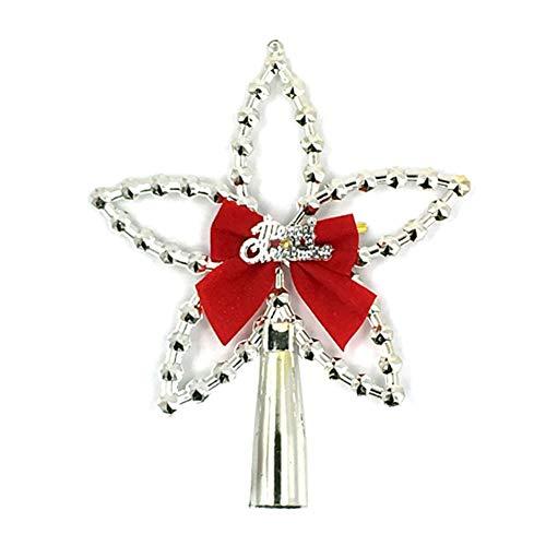 Topdo 1 Pieza Colgante de Navidad con Moda Decoración con Adornos de Estrella para la Decoración del Hogar del...
