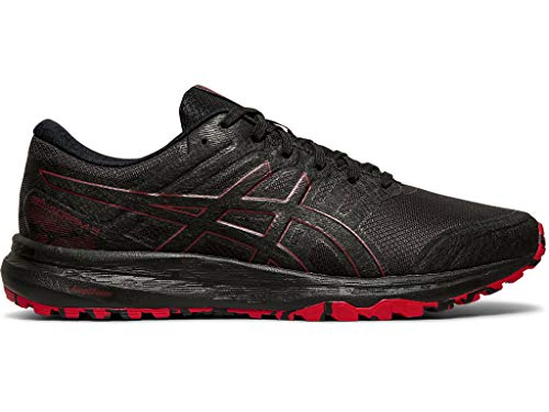 ASICS Men's Gel-Scram 5 Trail Running Shoes, 13M, Black/Speed RED