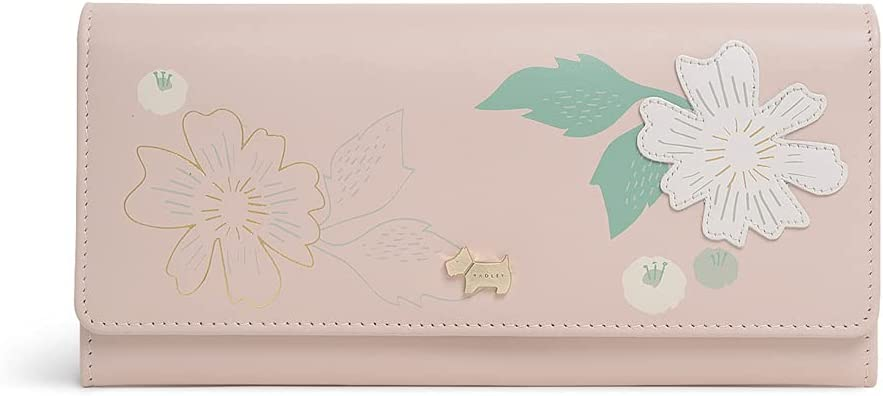 Radley London Painterly Floral Applique Wallet Milwaukee Mall Flapover Large - Max 48% OFF