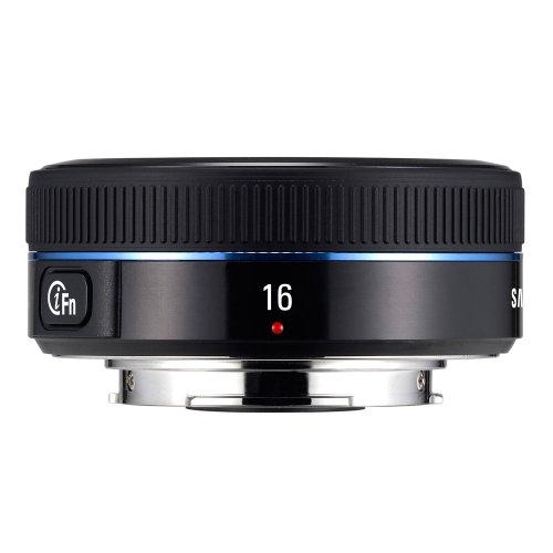 Samsung NX 16mm f/2.4 Camera Lens (Black) - Fixed