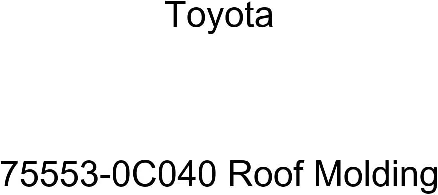 TOYOTA Genuine Free Shipping 75553-0C040 Max 40% OFF Molding Roof