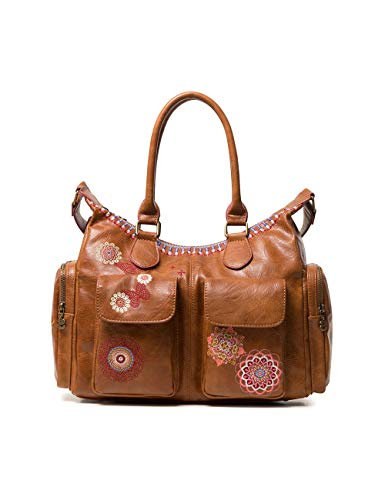 Desigual Damen Bag Chandy London Women Schultertasche Braun (Marron)